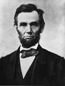 We see Spielberg's film for the promise of the true Lincoln hidden by the image.