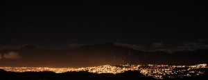 Caracas at night