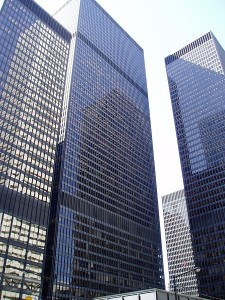 Mies, the old softie. Photo by SimonP at the English language Wikipedia [GFDL (http://www.gnu.org/copyleft/fdl.html)] from Wikimedia Commons.