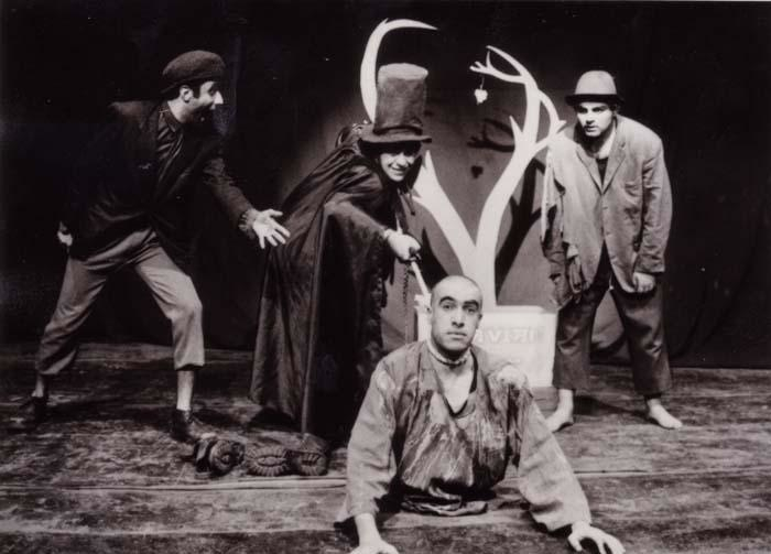 A student production of Samuel Beckett's Waiting for Godot, emblematizing the joyful persistence of failure. Courtesy Wikimedia. CC-BY-SA-3.0.
