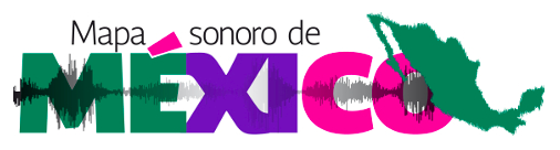 Screenshot from the Mapa Sonoro de México website