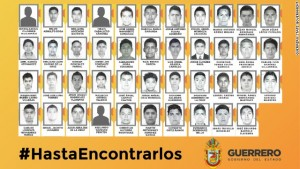 "Photo issued by the Government of Guerrero, via Wikipedia entry for ""2014 Iguala Mass Kidnapping"""