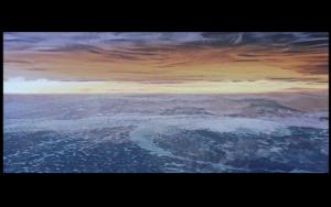 Lake Erie as seen from Soviet Russia. Screen shot from Solaris (1972), Andrei Tarkovsky dir.